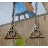 Buy cheap Gucci Harry Potter Luna And The Deathly Hallows Triangle Pendant Necklace Sweater Chain from wholesalers
