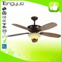 Wholesale Decorative fan Wooden blades ceiling fan TY-990 from china suppliers