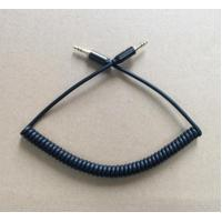 Buy cheap Fashion Audio 3.5 Male to Male Coiled cable with Metal shell from Wholesalers