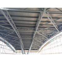 Buy cheap Pipe Truss Steel truss structure Al-Mg-Mn panel roof from wholesalers