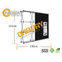 Wholesale New Design Pop Up Trade Show Displays Silver / Black For Advertising from china suppliers