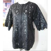 Imitation Leather Embroidery Jacket