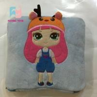 Cartoon Girl Baby Playmat