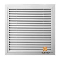China RAG-D Hinged Thin Blade Return Air Grille on sale