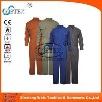 Wholesale Safety workwear EN1149 wholesale flame retardant cotton coverall for workers from china suppliers