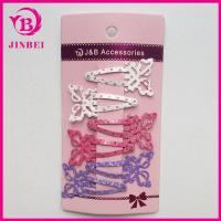 Wholesale Newest Color Butterfly Hair Clips For Children from china suppliers
