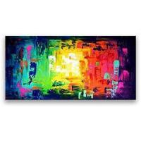 Buy cheap Hand-painted Abstract Online Paintings with Oils Reproduction Art from wholesalers