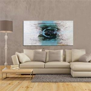 China Handmade Abstract Oil Color Painting Fine Art