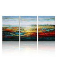 Buy cheap Hand Painted Abstract Fine Art Oil Painting for Home Decoration from wholesalers