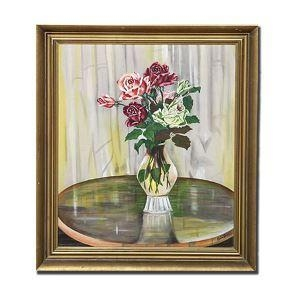 China 100% Hand Painted Floral Oil Painting Flowers