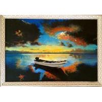 Buy cheap Decorative Hand Painted Contemporary Oil Art Paintings from wholesalers