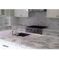 Wholesale Carrara White Black Marble top dining coffee table white marble countertops from china suppliers