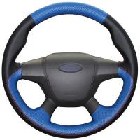 Wholesale High Quality Genuine Sheepskin Steering Wheel Cover For Ford Focus 3 2012-2014 KUGA 2013-2016 from china suppliers