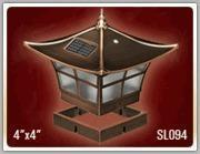 China Ambience Copper (2-Pack) Solar Post Cap4 x 4 on sale