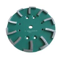 China 250mm Segments Concrete Grinding Diamond Abrasive Disc DMY-57 on sale
