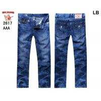 China True religion man jeans long pants fashion trousers TR jeans shorts on sale