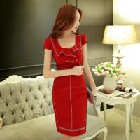 Buy cheap Women Fashion Sexy Bodycon Short Sleeve Slim Dresses from wholesalers