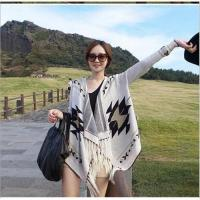Wholesale Women's Knitted Shawl Cardigan Coat from china suppliers