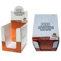 Wholesale Free magazine desk top cardboard display box from china suppliers