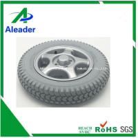 China Power Wheelchair Rear Wheels PU Foam Filled Tyres on sale
