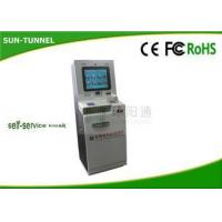 Wholesale 110 - 120V Power Echeck Self Service Check In Kiosk For Heathcare Center from china suppliers