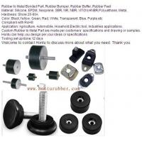 Wholesale Rubber to Metal Bonded Part, Rubber Bumper, Rubber Buffer, Rubber Feet from china suppliers