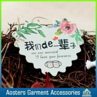 Wholesale Wholesale Custom Wedding Hangtags for Clothing from china suppliers