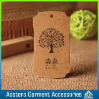 Wholesale China Hot Sale Handmade Clothes Designing Kraft Paper Hang Tag from china suppliers