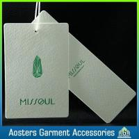 Wholesale Custom Brands Swing Tags Paper Hang Tag for Jeans from china suppliers