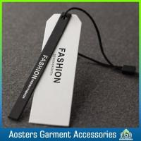 Wholesale Personalized Gold Foil Custom Garment Accessories Hang Tag String from china suppliers