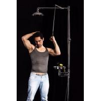 Wholesale STAINLESS STEEL EMERGENCY SHOWER & DOUBLE OUTLET EYE WASH from china suppliers