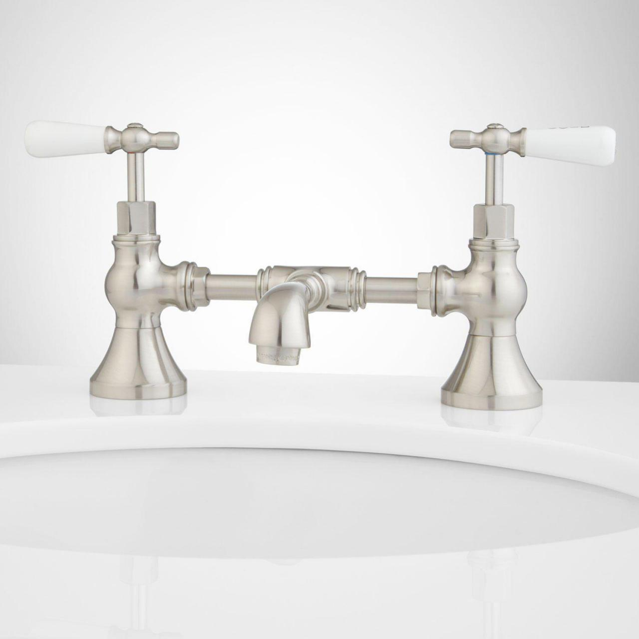 Wholesale bridge faucet bathroom from china suppliers