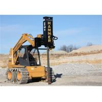 Danuser Hammer SM40 Post Driver With Tilt and Grapple for Skid Steers