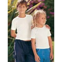 Wholesale children's silk thermal short sleeve vest 8 - 9 yrs (BV5) from china suppliers