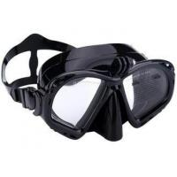 Wholesale Food Grade Unisex Silicone Diving Mask With Camera Mount / Durable Buckle from china suppliers