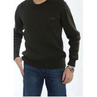 Wholesale Men's Winter Casual Round Neck Cotton Sweater | Basic Pullover Sweater from china suppliers