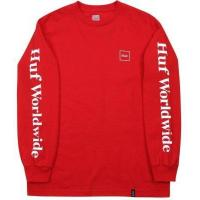 Wholesale HUF Domestic LS Tee, Red from china suppliers