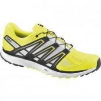 Wholesale Salomon Men's X-Scream Running Shoes - Fluo Yellow/Black/White from china suppliers