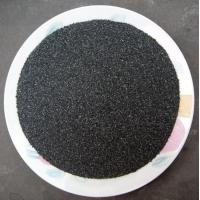 China Black silicon carbide sand Black silicon carbide graded sand on sale