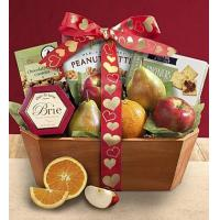 Holidays Love is Fresh From The Orchard Fruit Gift Basket