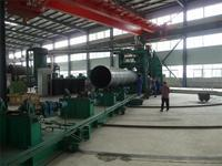 Buy cheap Complete Spiral Welded Pipe Production Line from wholesalers