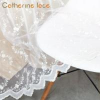 Buy cheap Catherine High Precision Drapes French Lace Sheer Curtain Fabrics Turkey Price from wholesalers