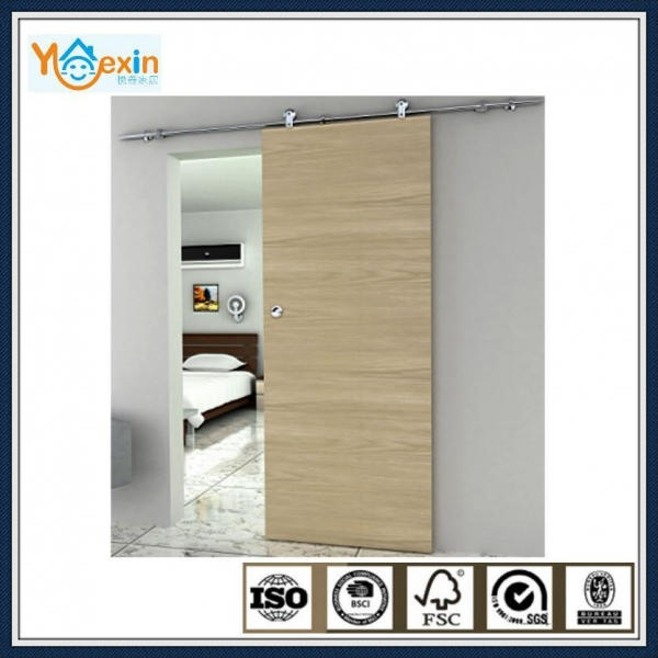 Quality Fashion Style Interior Wood sliding Barn Door Hardware Partition door system for sale
