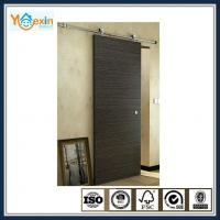 Wholesale Stainless Steel top mounted wood barn sliding door roller system from china suppliers