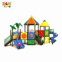 Outdoor Playground Tropical Series Toddler Playground Equipment