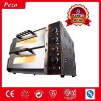 China 3KW STAINLESS STEEL PROFESSIONAL 2 LAYERS ELECTRIC PIZZA OVEN on sale