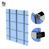 Wholesale Aluminum Curtain Wall System For Exterior High Buildings from china suppliers