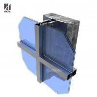 Wholesale Aluminum Frame Glass Curtain Wall For Commercial Building from china suppliers