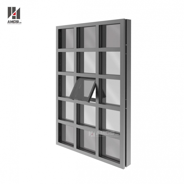 Quality Double Glazed Curtain Wall For Exterior Facade for sale