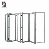 Wholesale Customized Aluminum Folding Door With Double Glazing from china suppliers